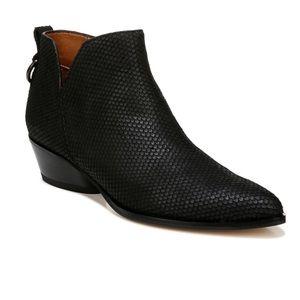 Franco Sarto Black Sloan Ankle Boots